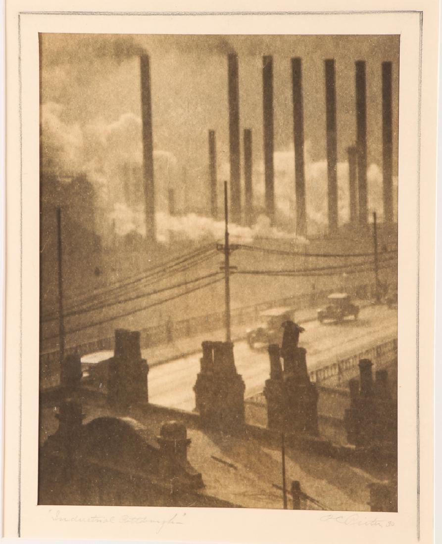 Oscar C. Reiter Pictorialist photograph; Industrial