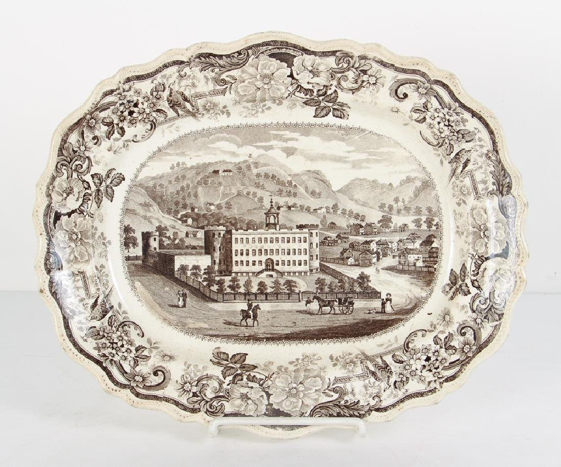 Transferware Picturesque View of Allegheny