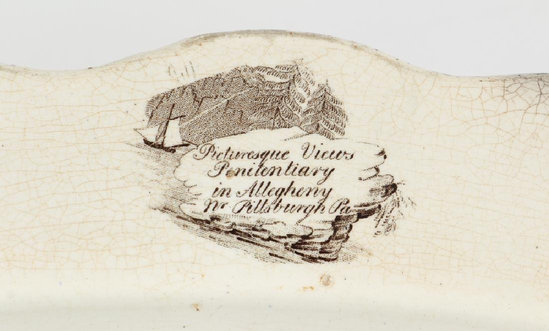 Transferware Picturesque View of Allegheny - 3