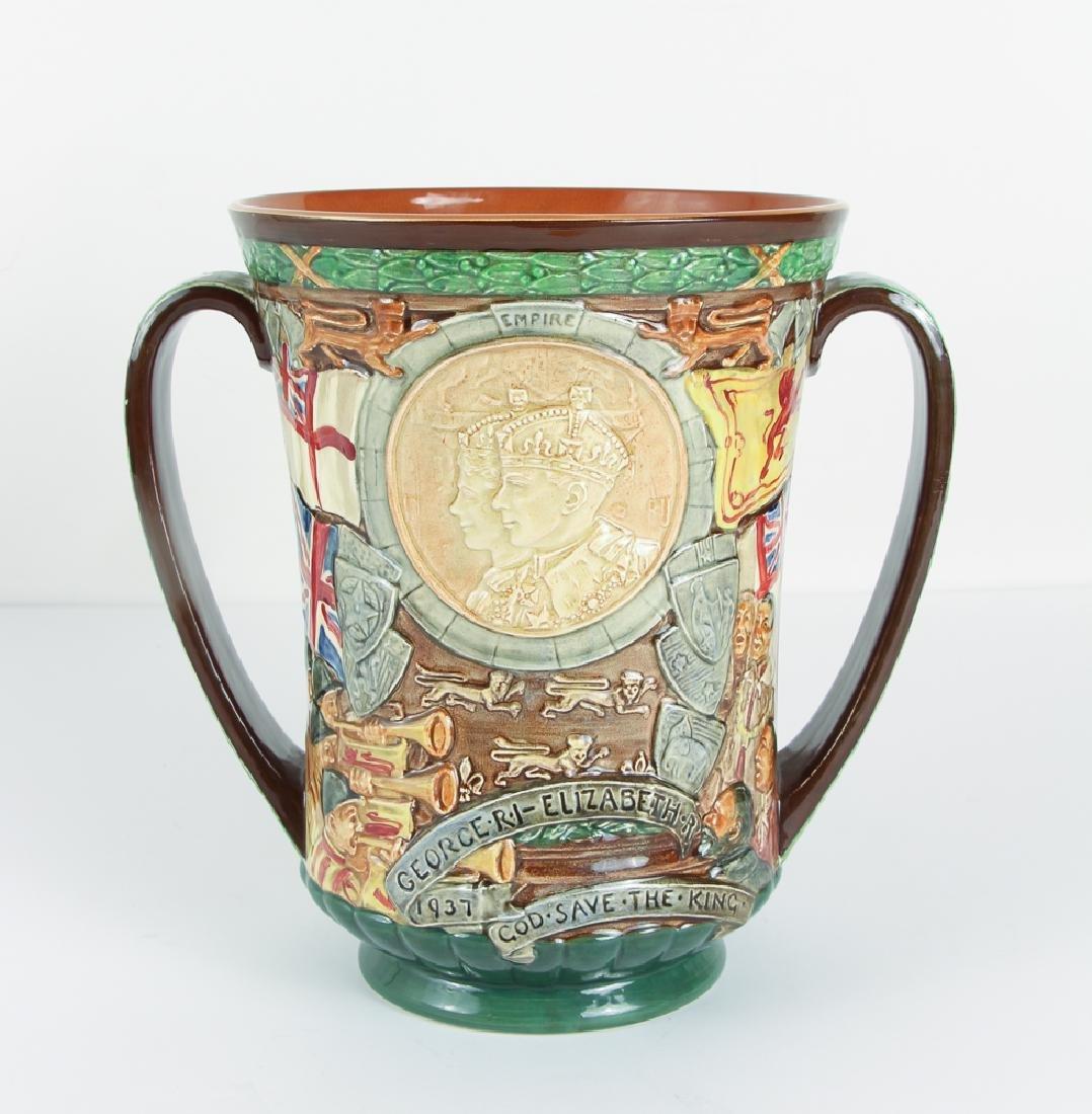 1937 Doulton Commemorative Coronation Loving Cup