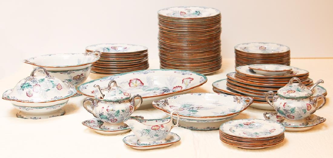 Large Group Copeland Late Spode Fern China