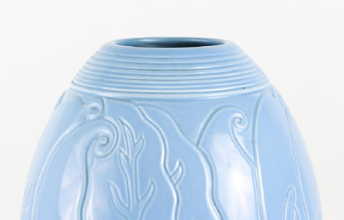 Large Hamilton California Pottery Art Deco Vase - 4