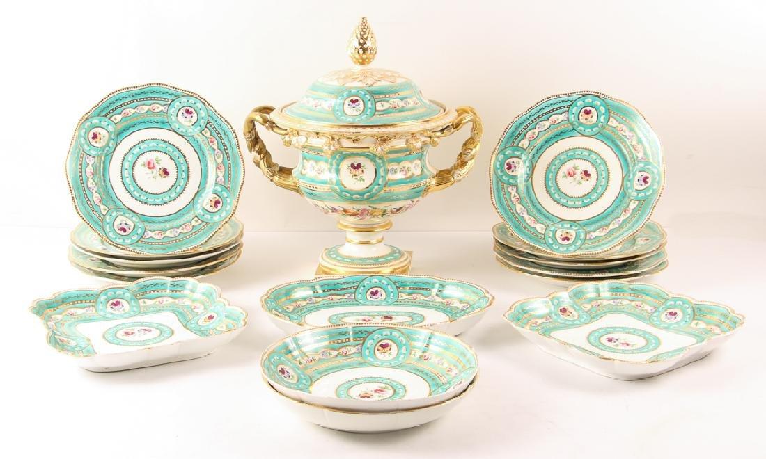 Worcester or Old Paris Porcelain Group