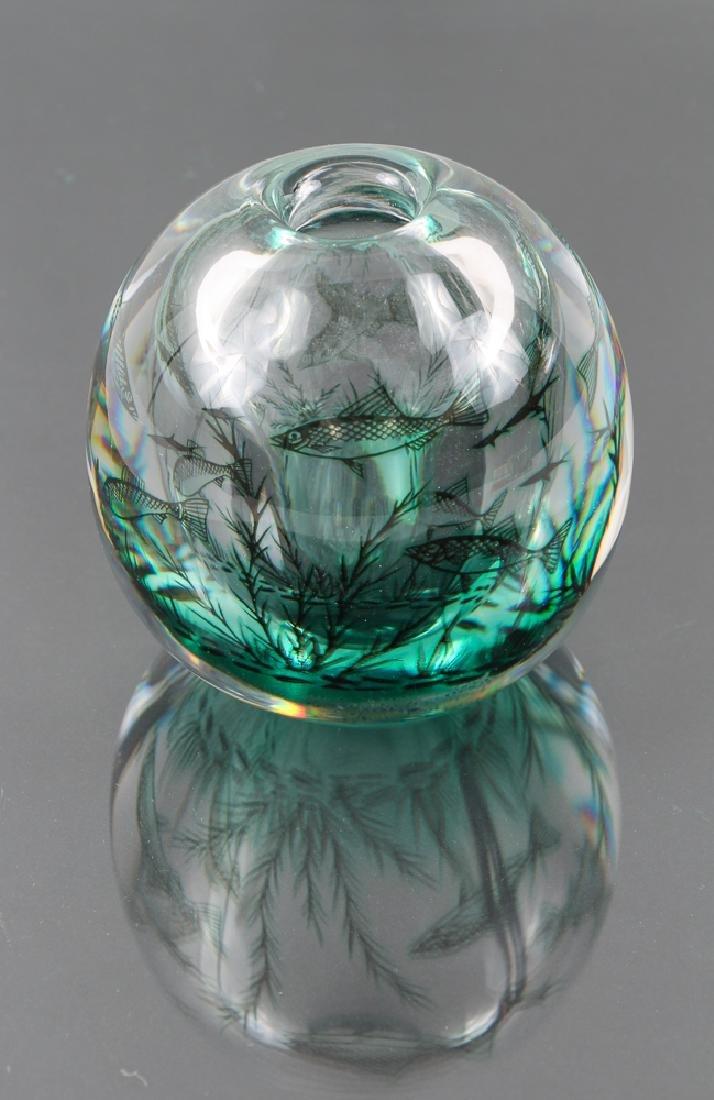 Orrefors Vase by Ewald Hald
