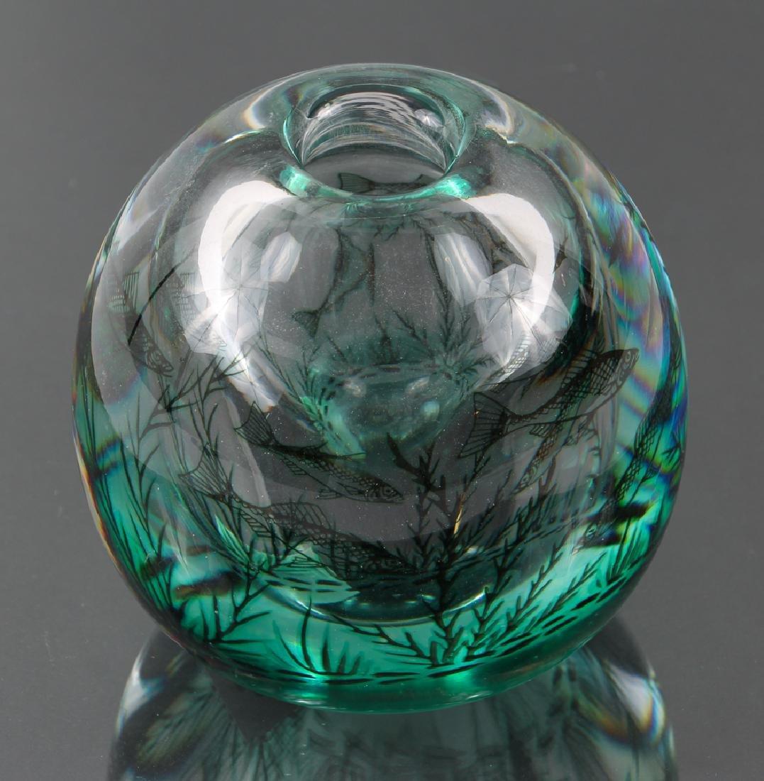 Orrefors Vase by Ewald Hald - 4