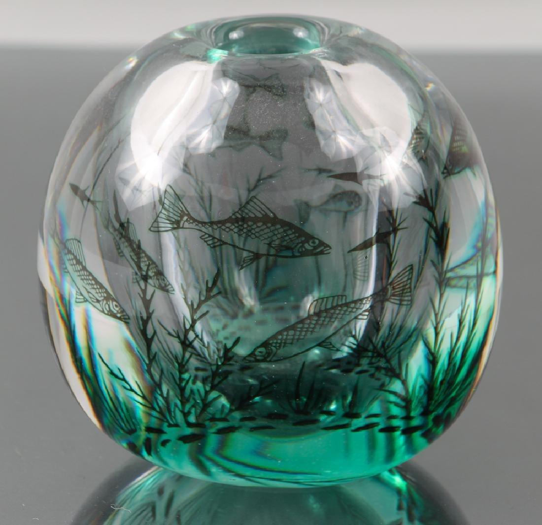 Orrefors Vase by Ewald Hald - 5
