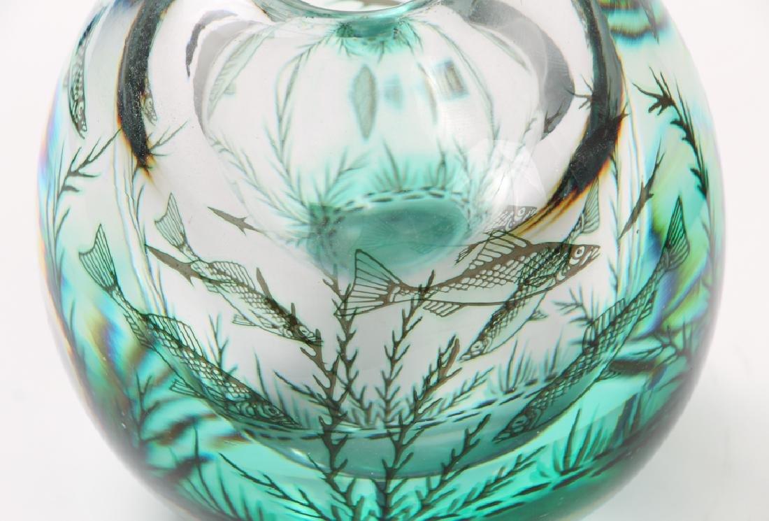 Orrefors Vase by Ewald Hald - 7