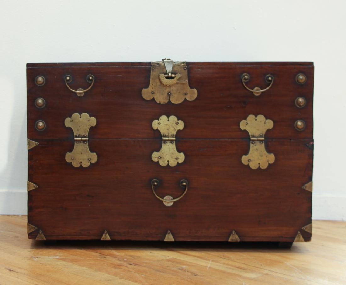 Pair of Antique Korean Storage Chests - 3