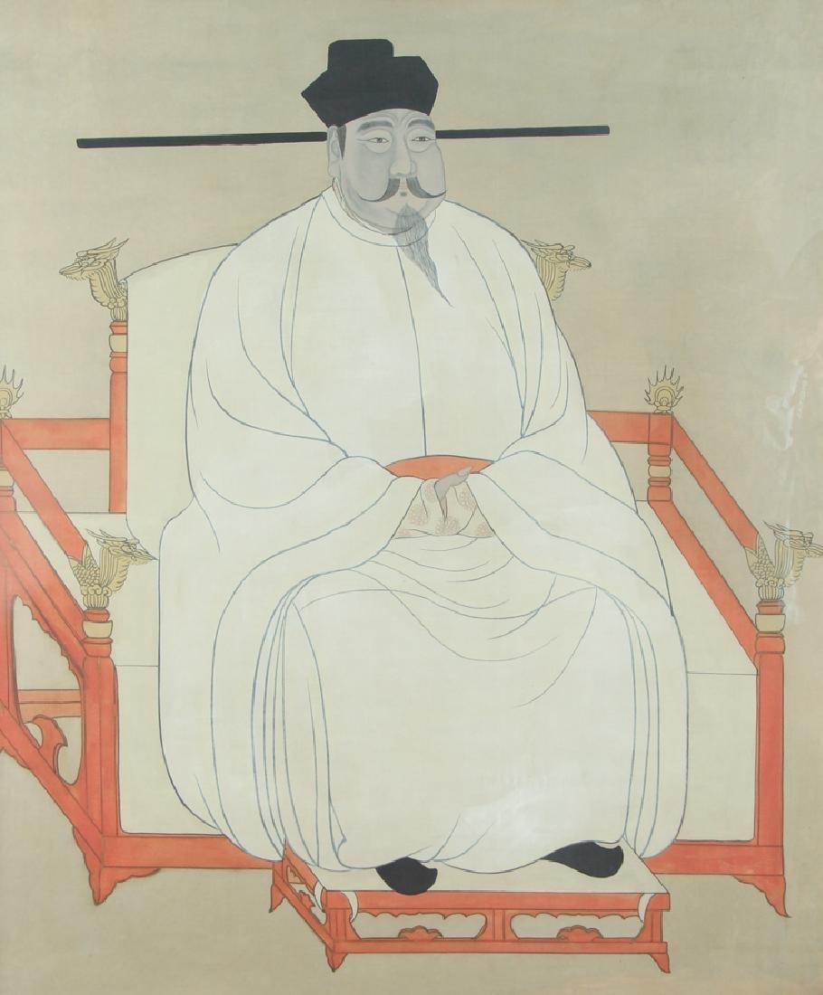Large Chinese or Korean Ancestor Portrait
