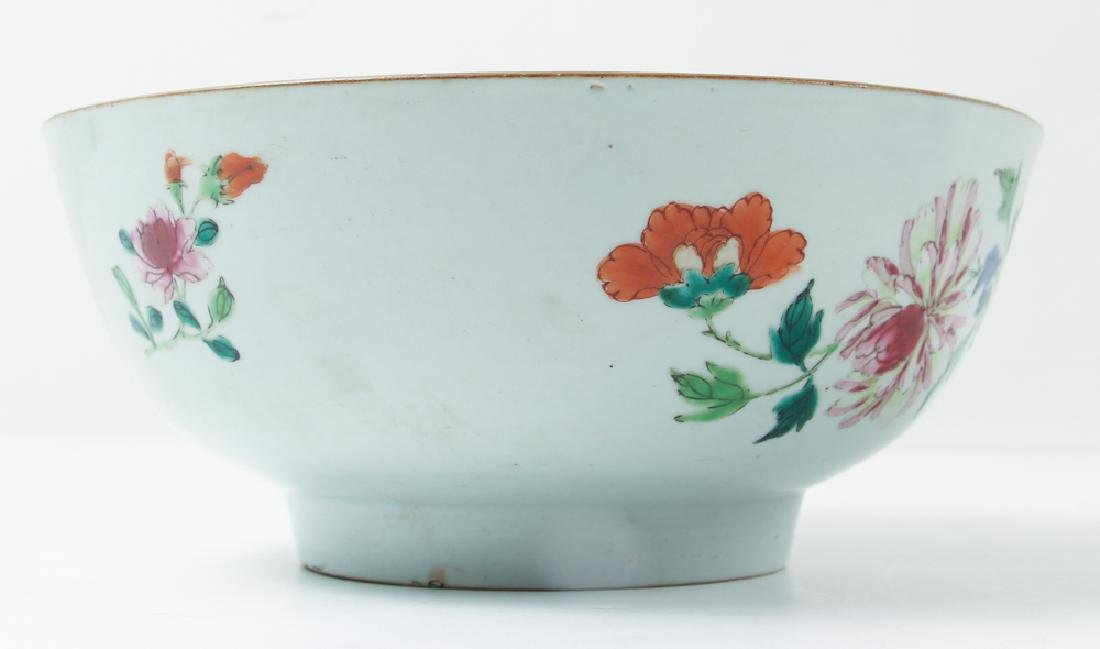 Two Antique Famille Rose Bowls - 3