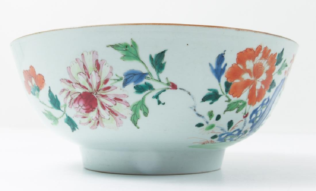 Two Antique Famille Rose Bowls - 4