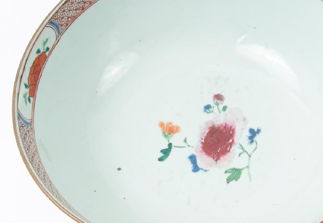 Two Antique Famille Rose Bowls - 5