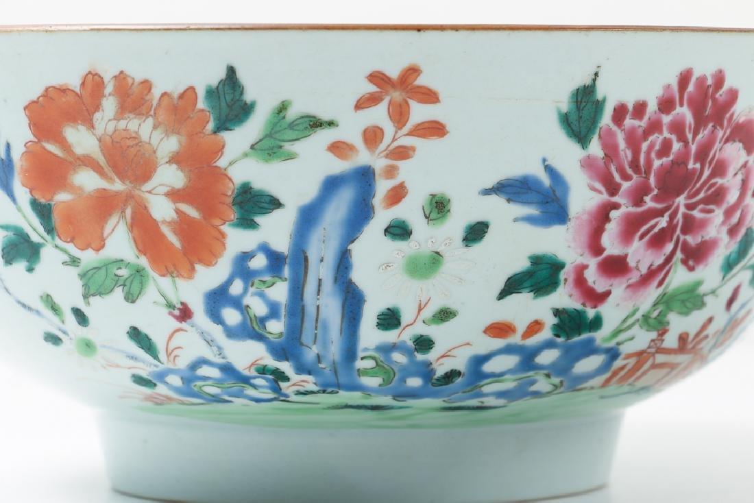 Two Antique Famille Rose Bowls - 8