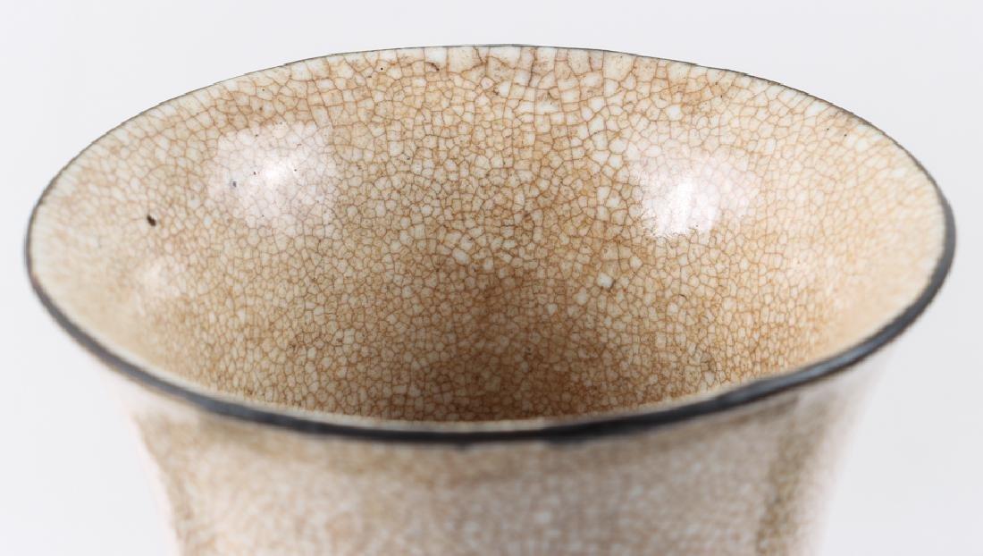 Four Pieces Chinese Crackle Glaze Ceramics - 10