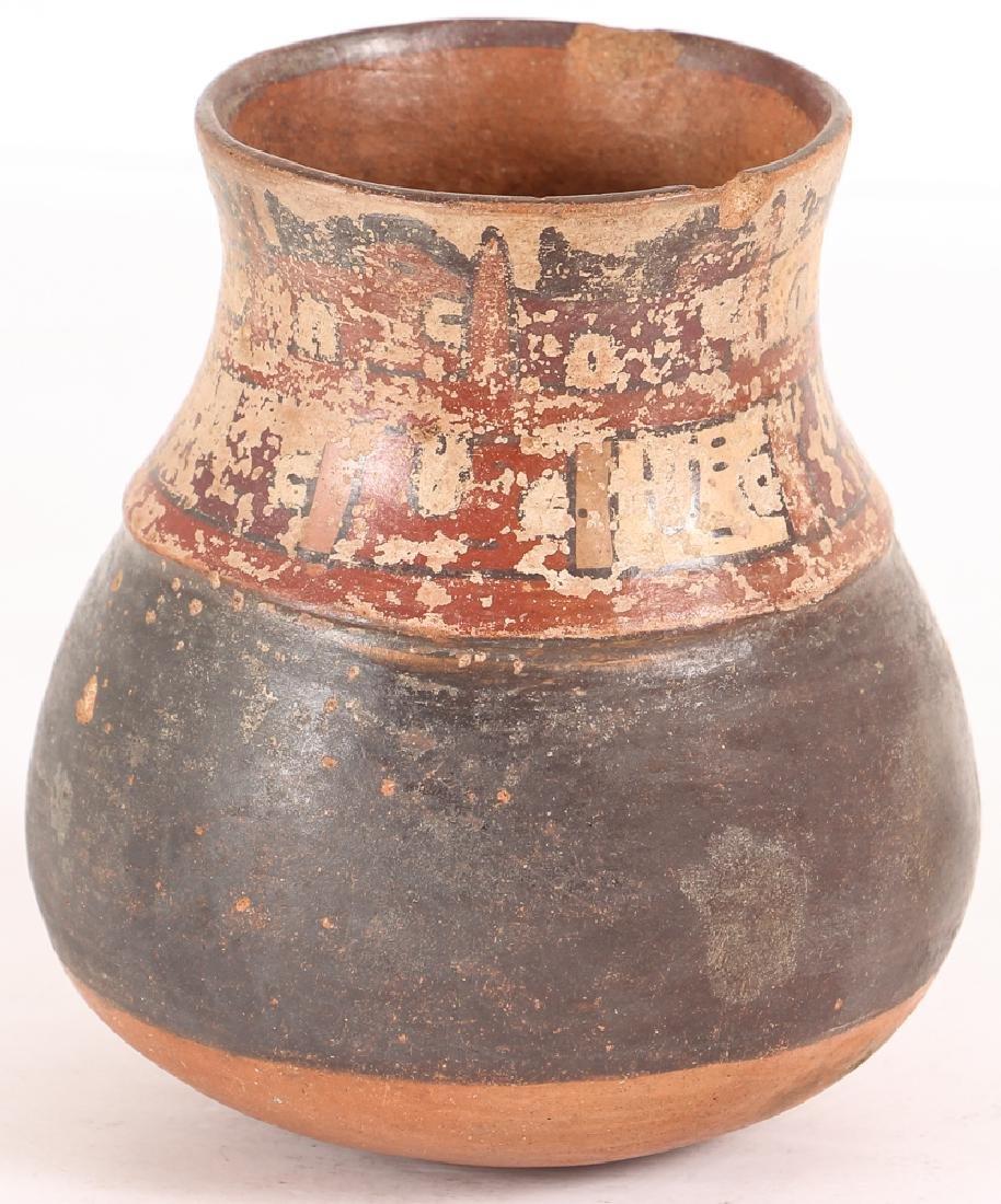 Nazca Pottery Face Kero - 2