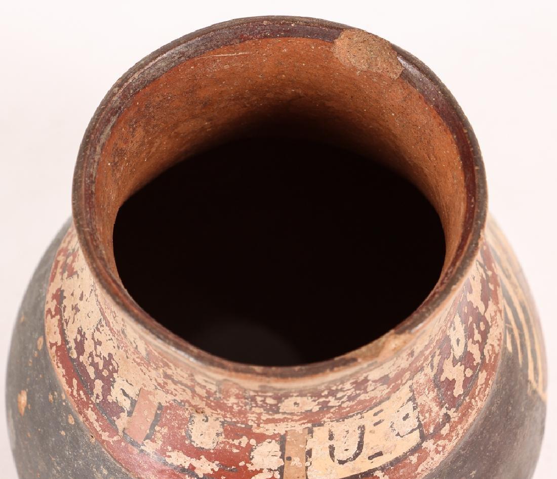 Nazca Pottery Face Kero - 3