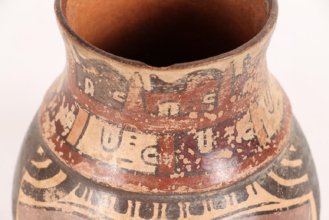 Nazca Pottery Face Kero - 6
