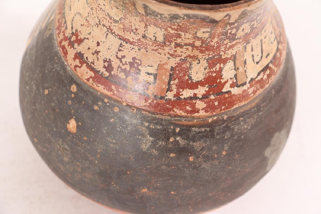 Nazca Pottery Face Kero - 7