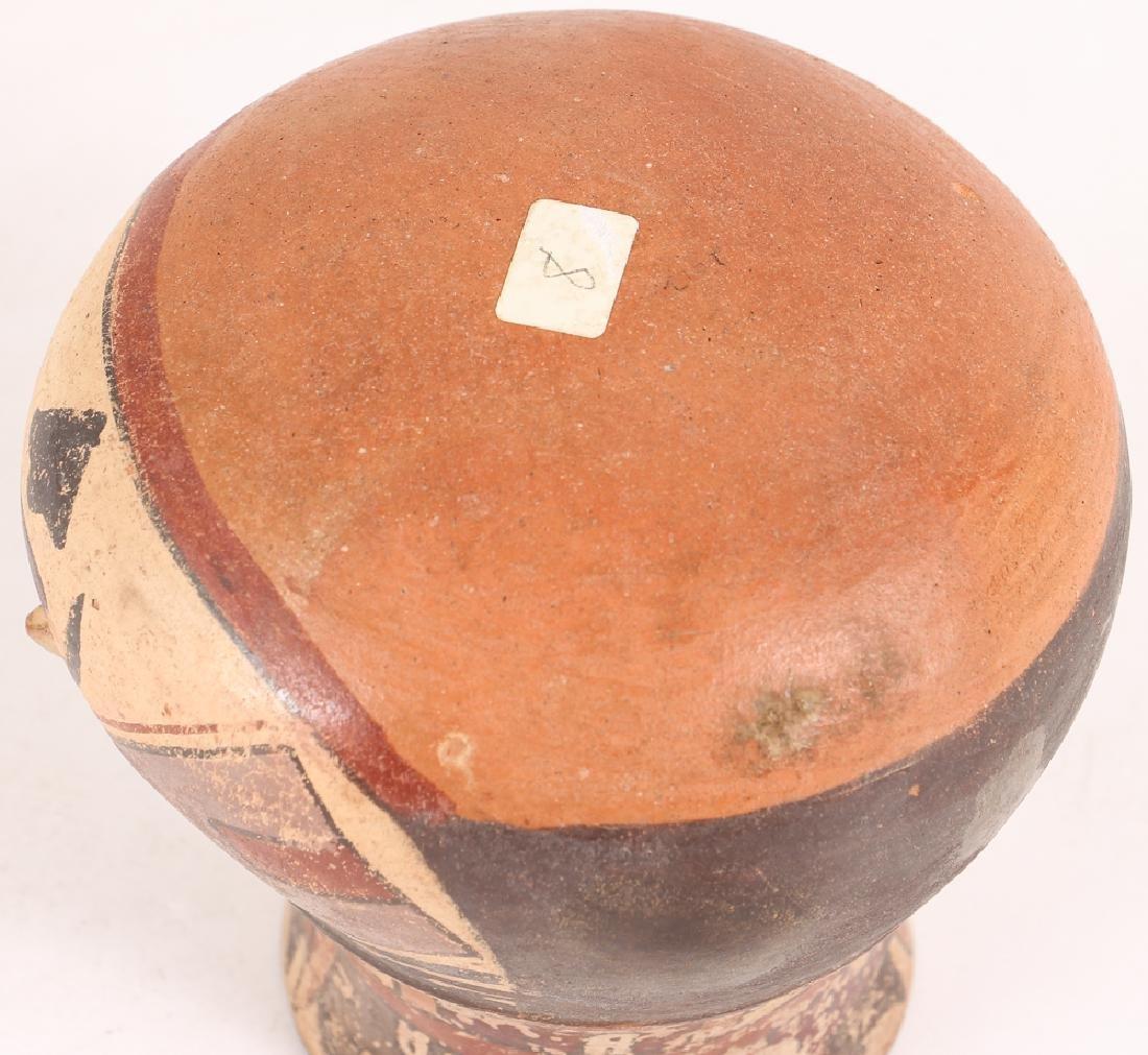 Nazca Pottery Face Kero - 8