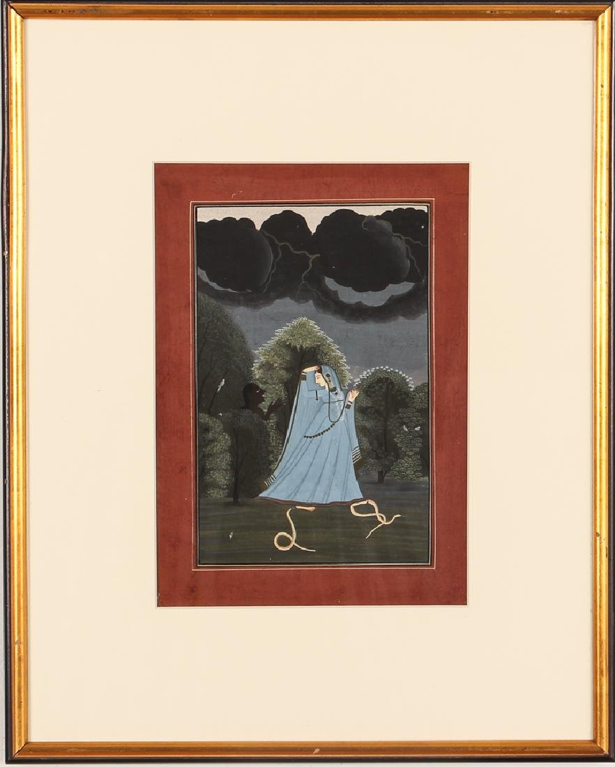 Indian Miniature Painting from the Nayika series - 2