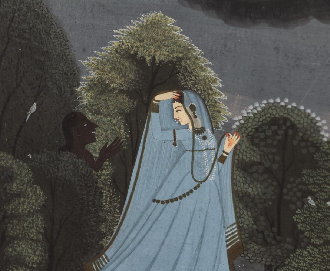 Indian Miniature Painting from the Nayika series - 3