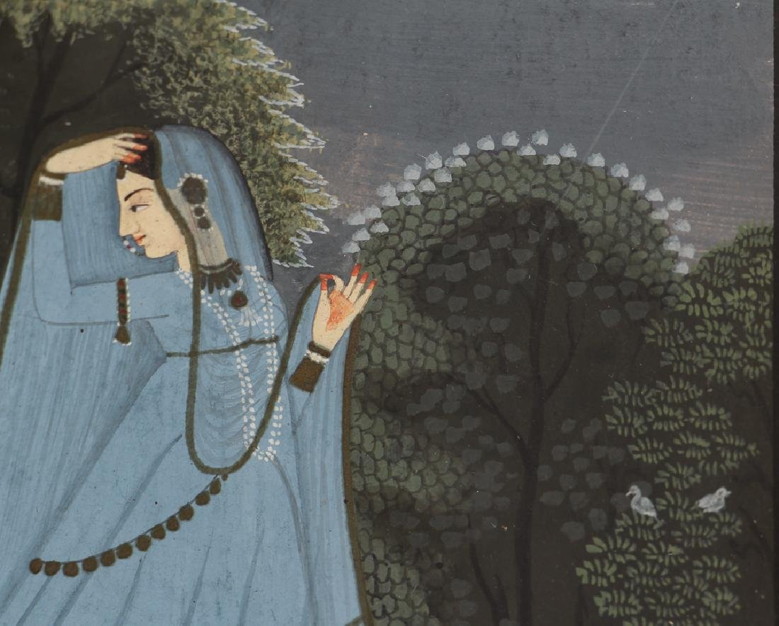 Indian Miniature Painting from the Nayika series - 6
