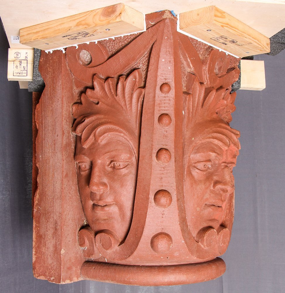 Native American Face Column Capital from Church of the