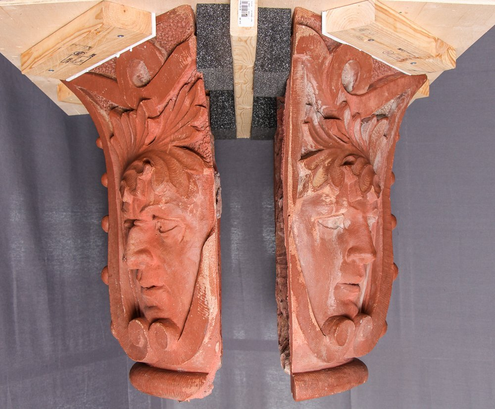 Native American Face Column Capital from Church of the - 2