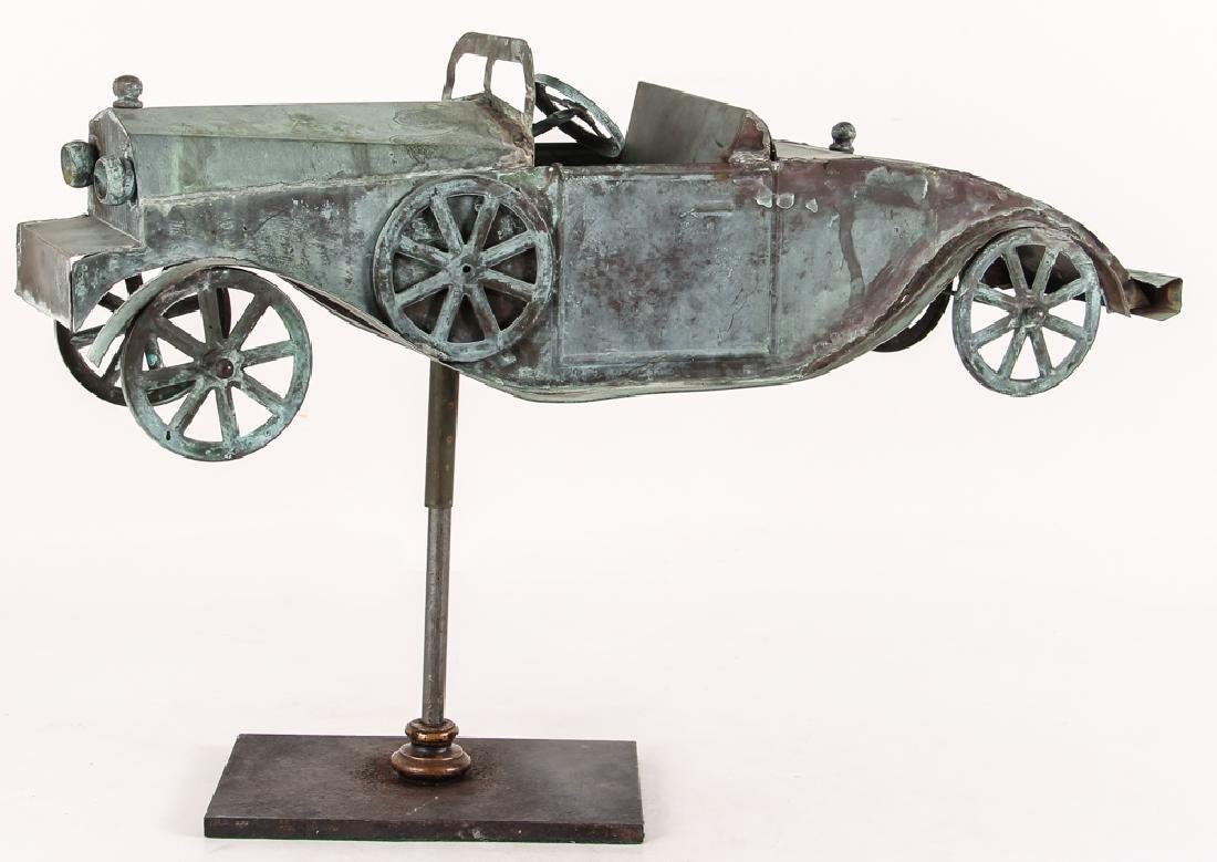 Weathervane Modelled on Antique Roadster - 2
