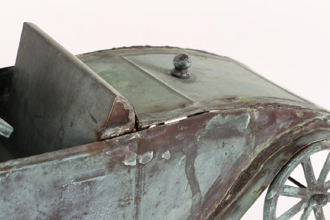 Weathervane Modelled on Antique Roadster - 3