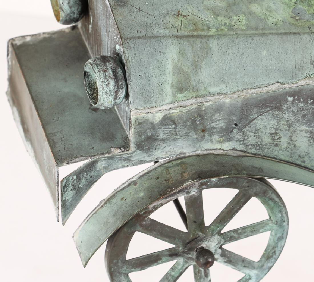Weathervane Modelled on Antique Roadster - 4