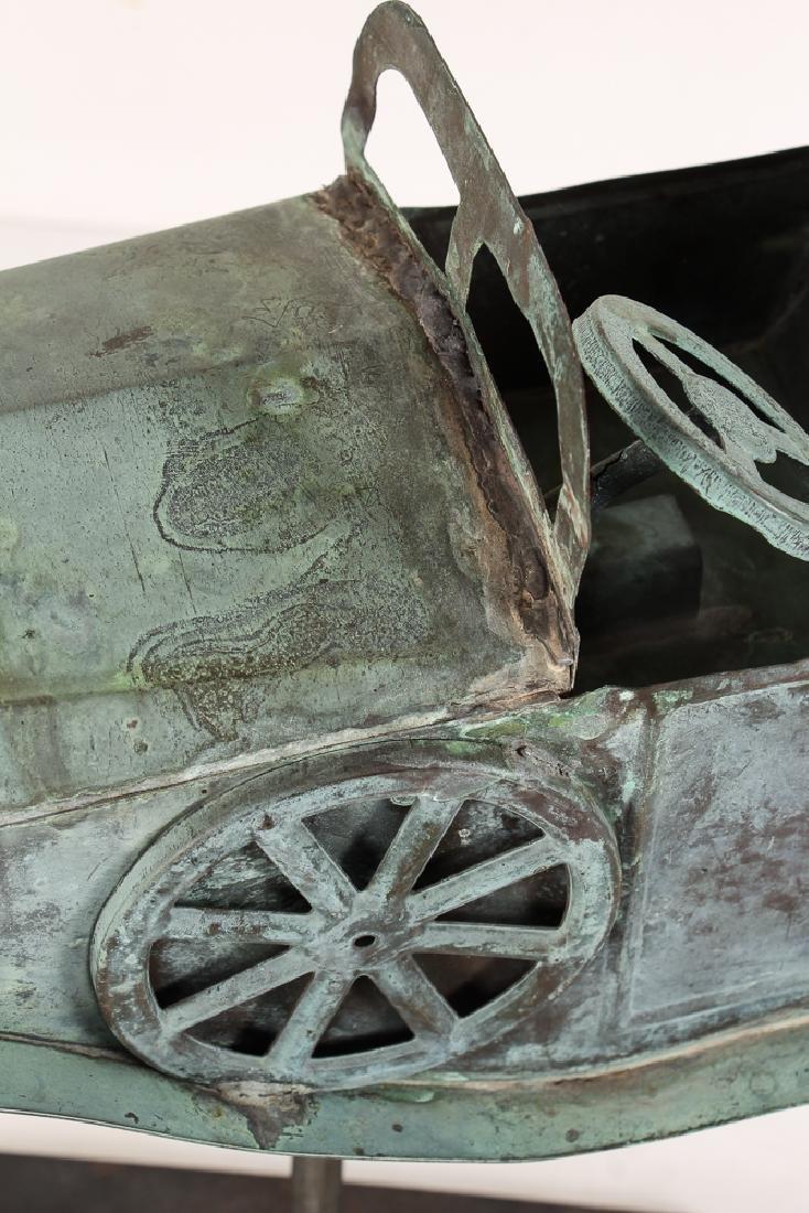 Weathervane Modelled on Antique Roadster - 5