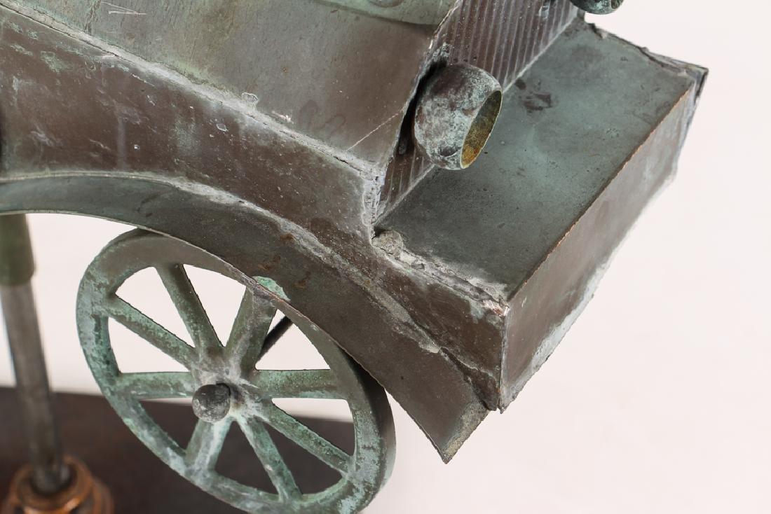 Weathervane Modelled on Antique Roadster - 6