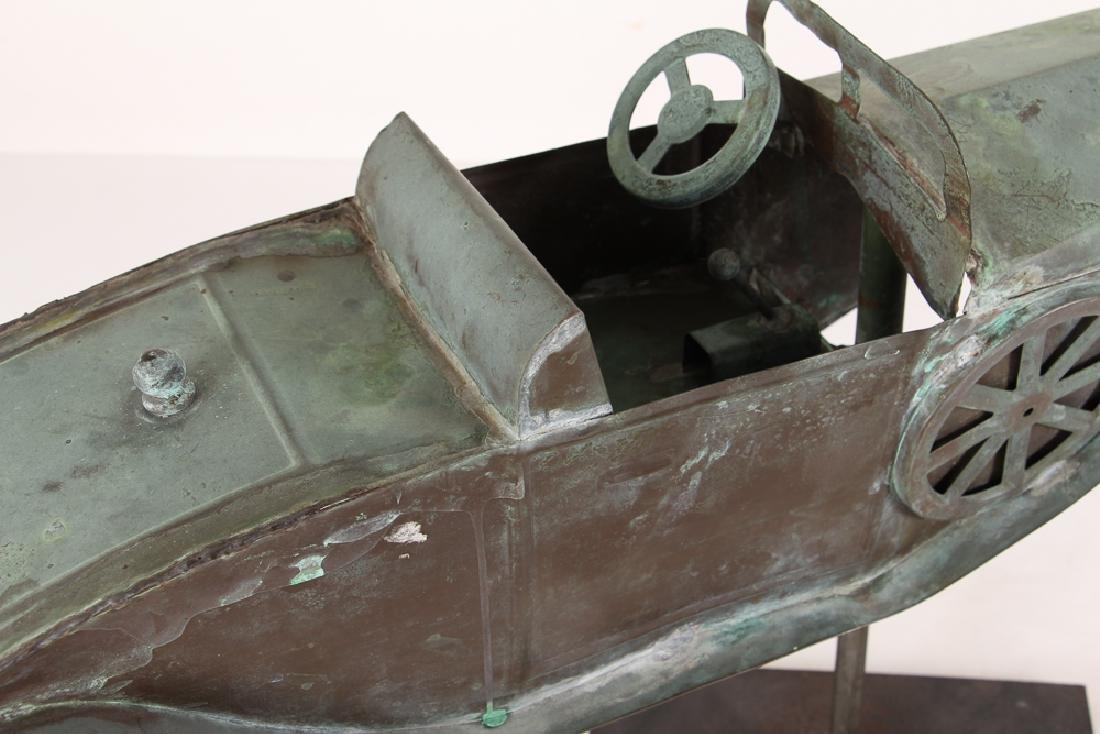 Weathervane Modelled on Antique Roadster - 7