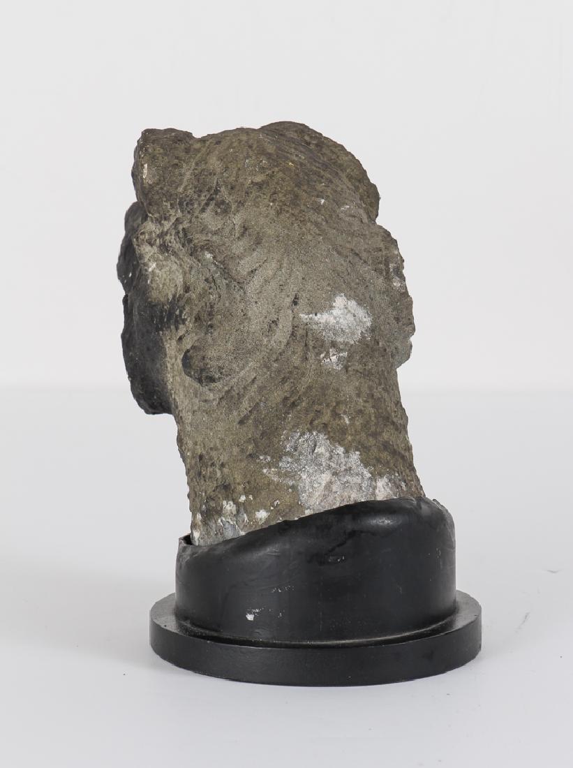 Antique Carved Stone Gargoyle - 2
