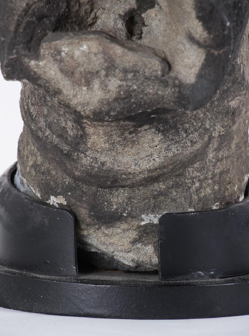Antique Carved Stone Gargoyle - 4