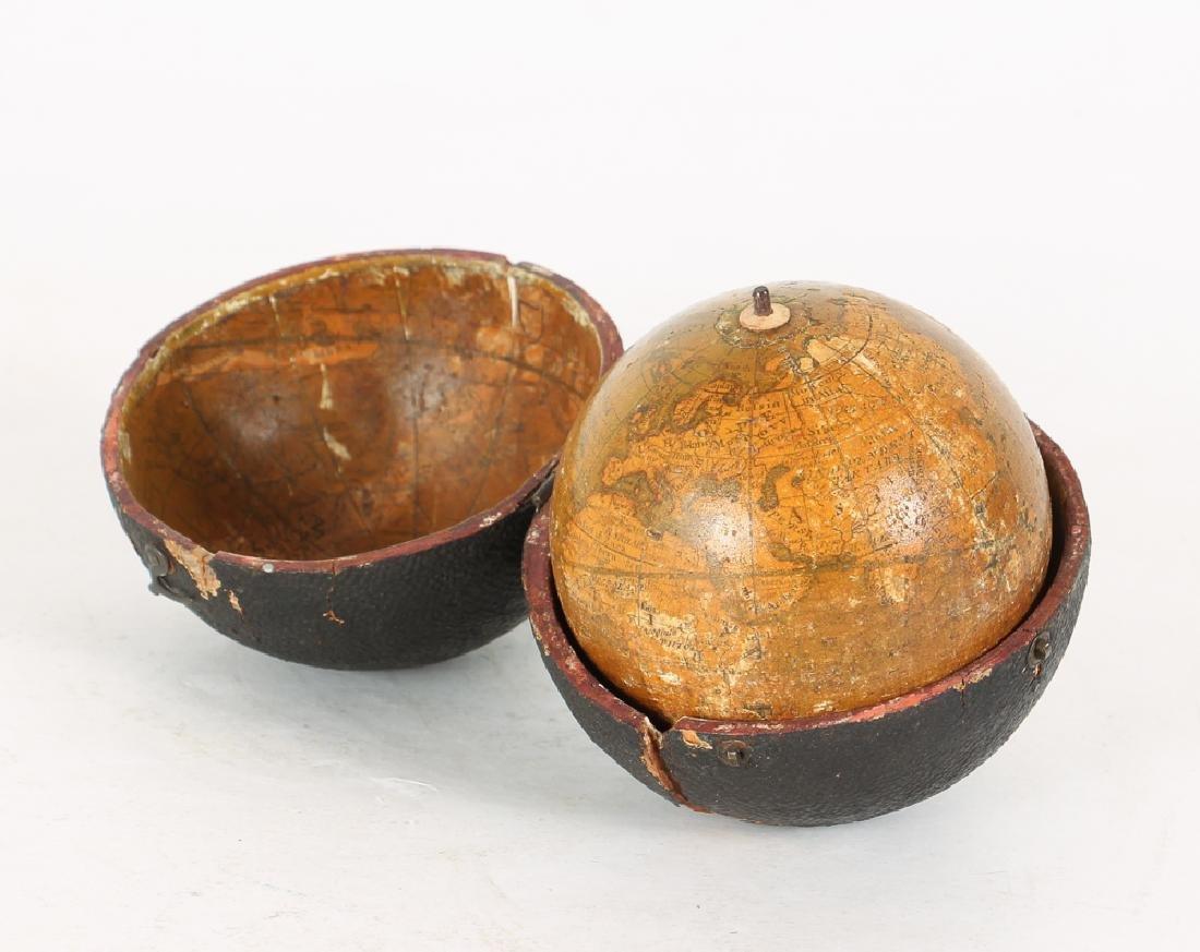 Antique Lane Improved Pocket Globe and Case