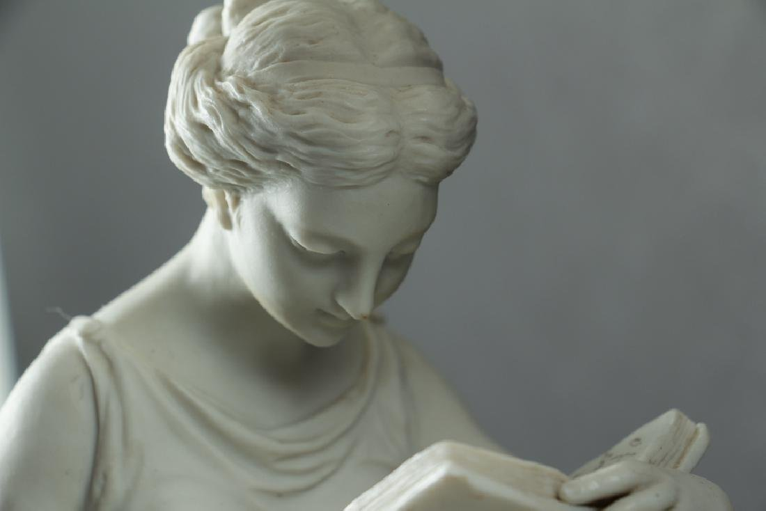 After Antonio Canova Parian Ware Lamp - 3