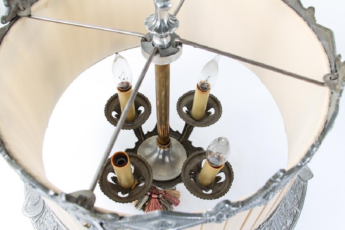 Art Deco Four Light Chandelier - 7