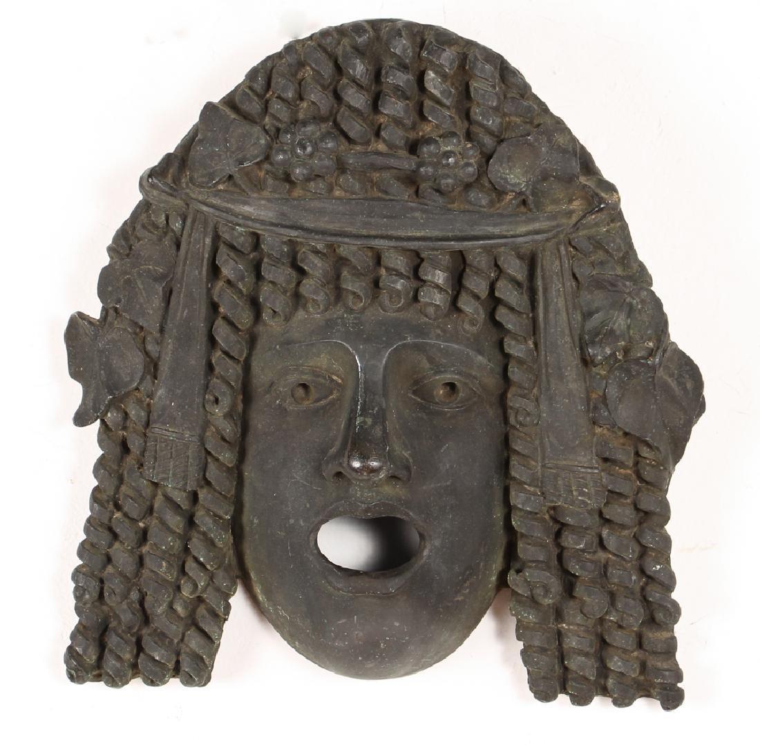 Chiurazzi Foundry Bronze Ancient Mask Copy