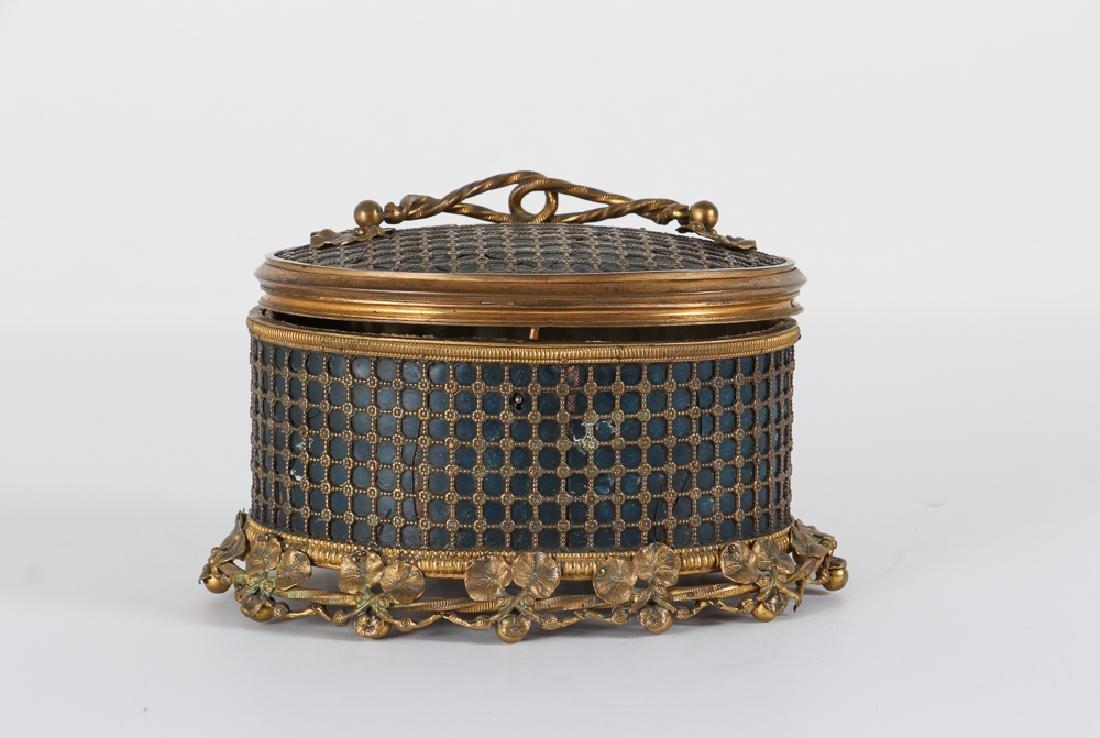 Continental Art Nouveau Jewelry Casket
