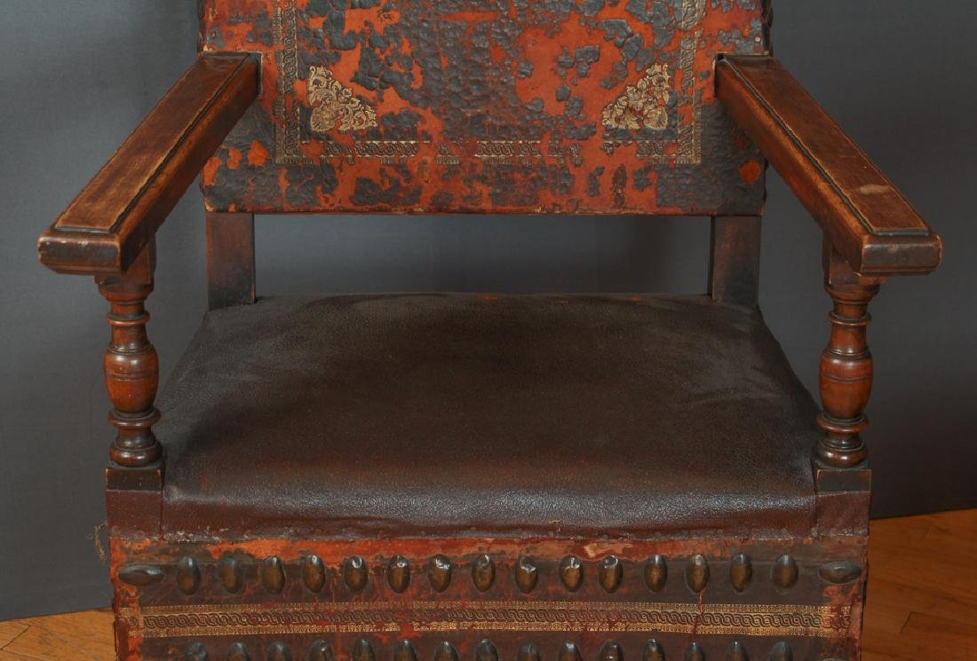 Pair of Feudal Style Arm Chairs - 5