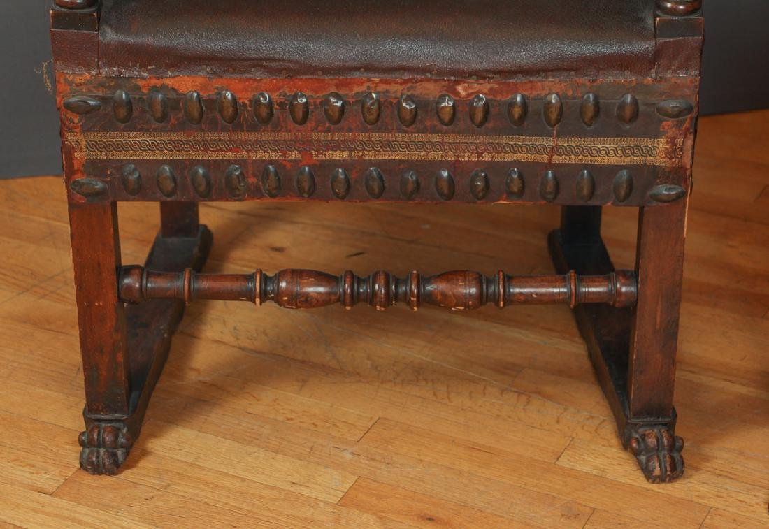Pair of Feudal Style Arm Chairs - 6