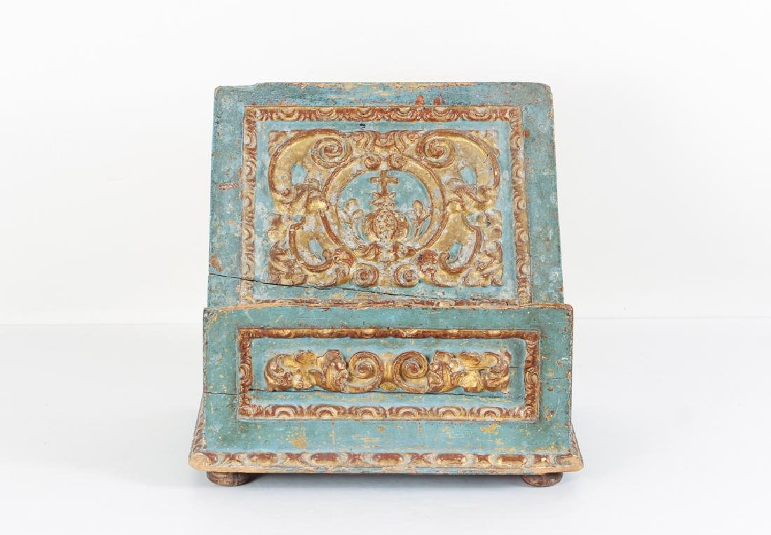 Rococo Bookstand with period gilding and finish