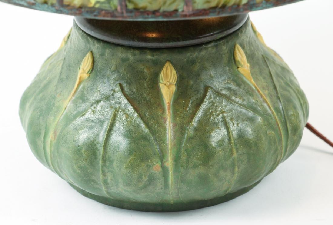 Century Studios Daffodil Leaded Glass Lamp - 5
