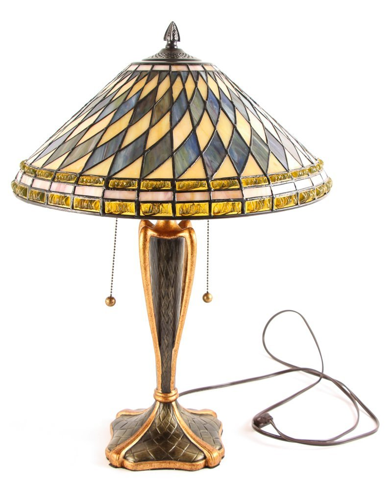Quoizel Arts and Crafts Style Table Lamp