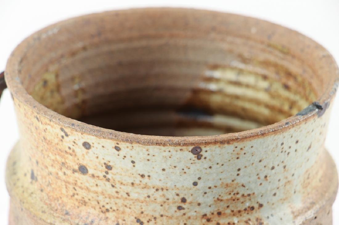 Studio Ceramic Tall Lidded Vase - 5
