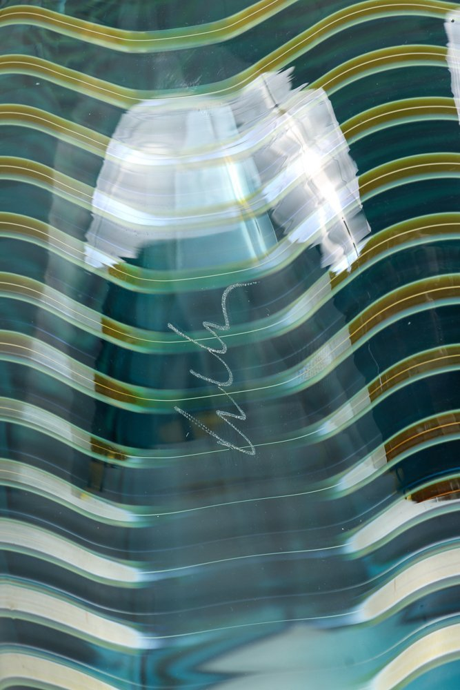 DALE CHIHULY; PORTLAND PRESS Blown glass Seaform vase - 8