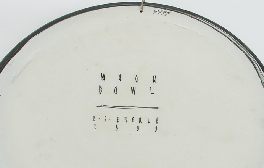 Ed Eberle large porcelain Moon Bowl - 3