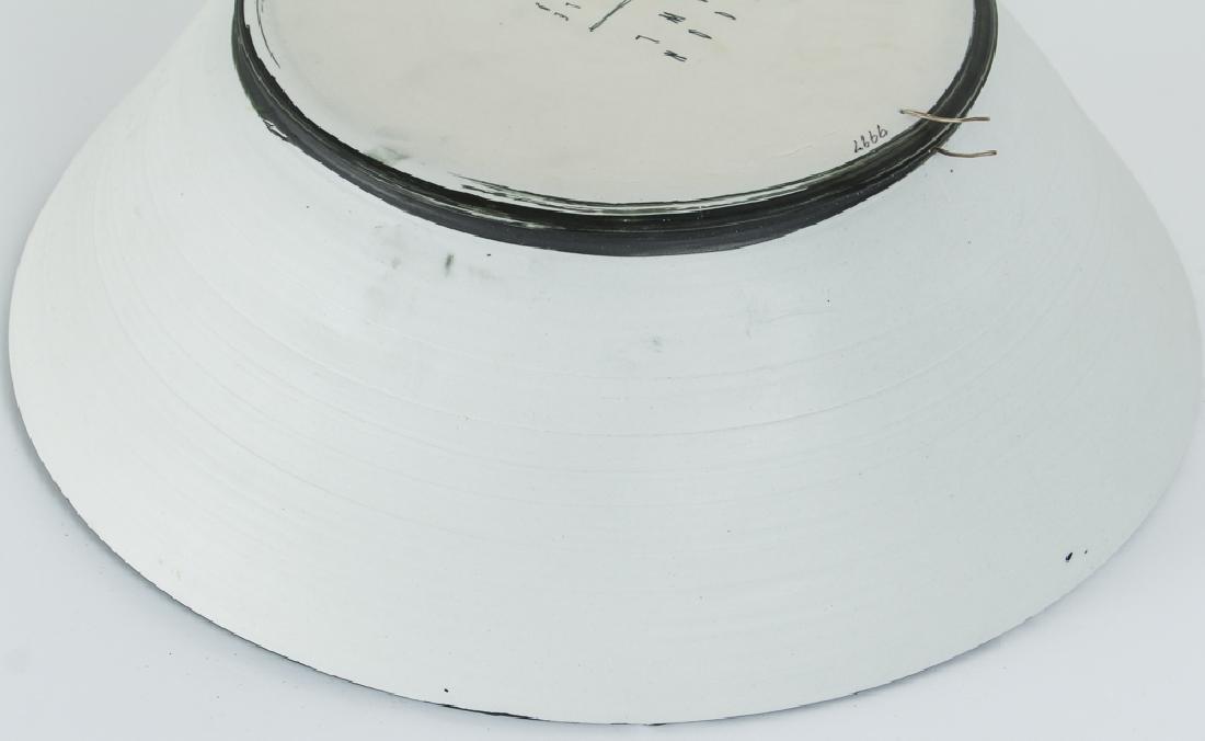 Ed Eberle large porcelain Moon Bowl - 4